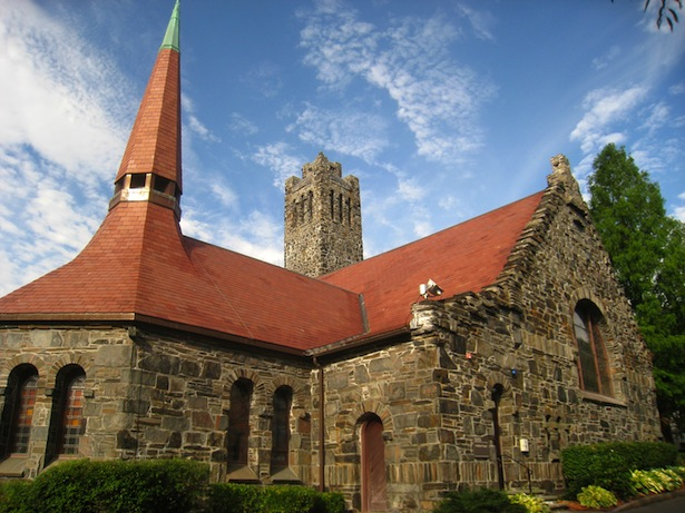 Goddard Chapel on Tufts University Campus