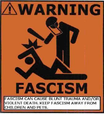 fascism picture posted by university of wisconsin stout professor  share this