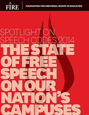 Spotlight on Speech Codes 2014-portrait